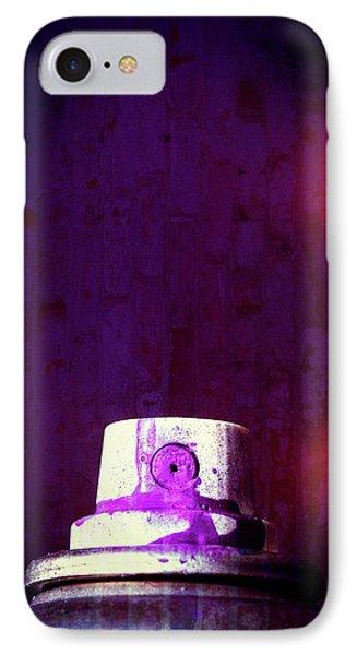 Sprayed IPhone Case by Karol Livote