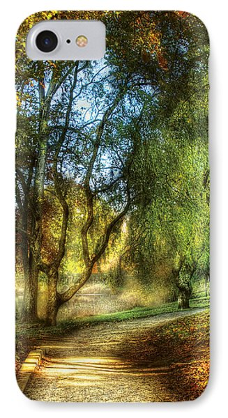 Spring - Landscape - My Journey My Path Phone Case by Mike Savad