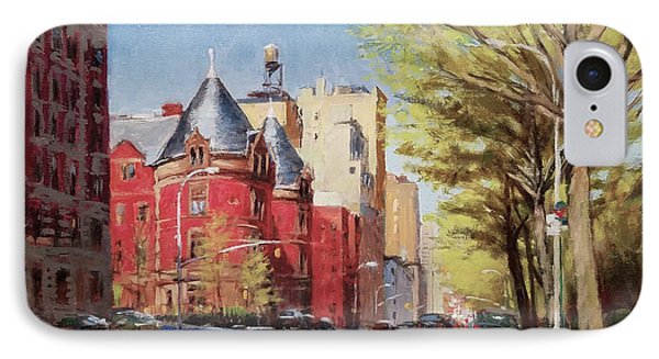 Spring Afternoon, Central Park West Phone Case by Peter Salwen