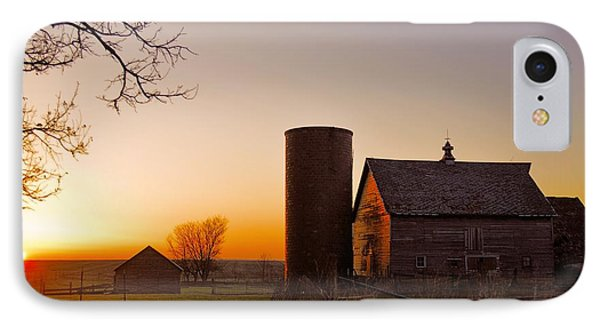 Spring At Birch Barn 2 IPhone Case