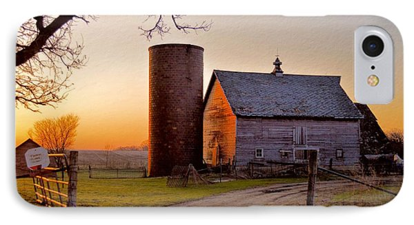 Spring At Birch Barn IPhone Case