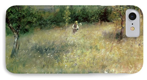 Spring At Chatou Phone Case by Pierre Auguste Renoir