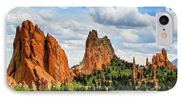 Spring At Garden Of The Gods IPhone Case
