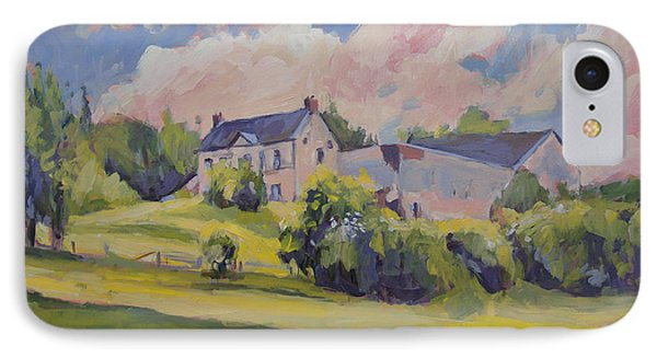 Spring At The Hoeve Zonneberg Maastricht IPhone Case by Nop Briex