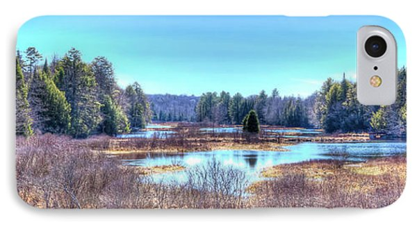 IPhone Case featuring the photograph Spring Scene At The Tobie Trail Bridge by David Patterson