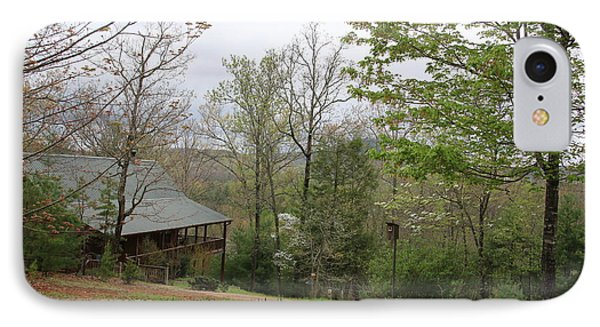 Spring At The Mountain Cabin IPhone Case by Marilyn Carlyle Greiner