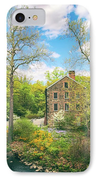 Spring At The Stone Mill  IPhone Case by Jessica Jenney