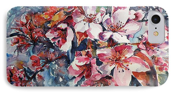 IPhone Case featuring the painting Spring Beauty by Kovacs Anna Brigitta