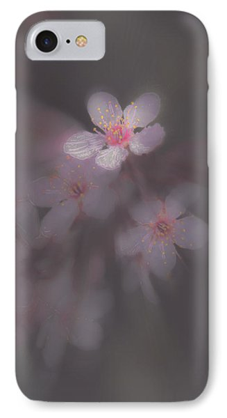 Spring Blooms In The Fog Of Late Winter IPhone Case by Mick Anderson