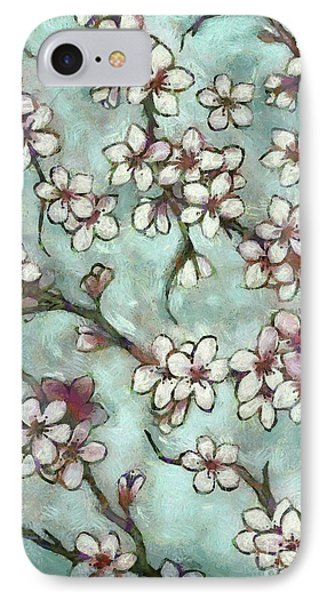 Spring Is In The Air IPhone Case by Autumn Moon