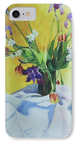 Spring Bouquet IPhone Case by Elizabeth Carr