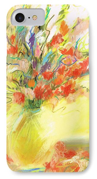 IPhone Case featuring the painting Spring Bouquet by Frances Marino