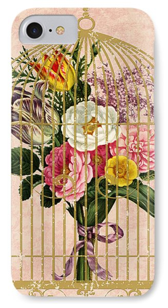 Spring Bouquet I IPhone Case by Marilu Windvand