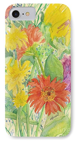 IPhone Case featuring the painting Spring Bouquet  by Vicki  Housel