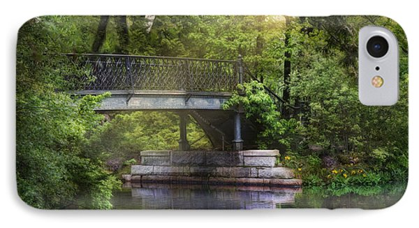 IPhone Case featuring the photograph Spring Bridge by Robin-Lee Vieira