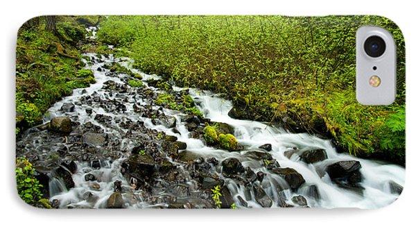 Spring Cascades Phone Case by Mike  Dawson
