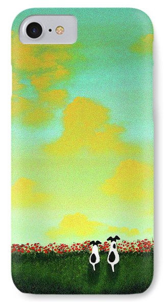 Spring Clouds IPhone Case
