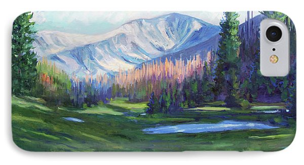 Spring Colors In The Rockies IPhone Case by Billie Colson