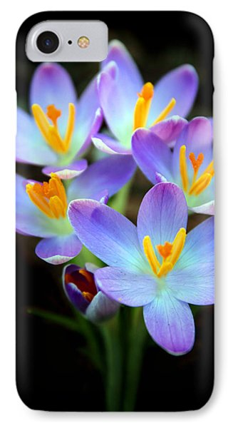 IPhone 7 Case featuring the photograph Spring Crocus by Jessica Jenney