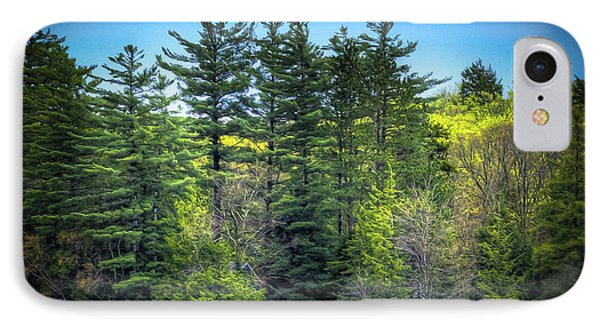 Spring Day At Old Forge Pond IPhone 7 Case by David Patterson