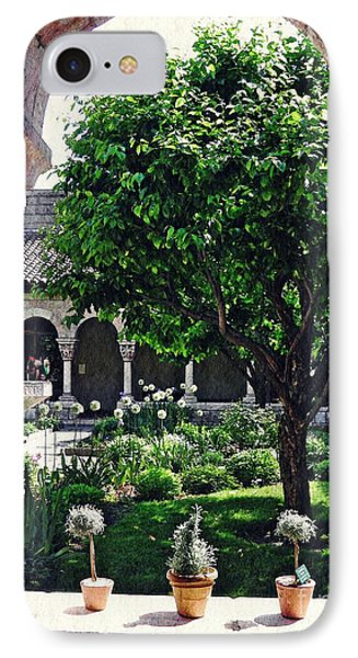 Spring Day At The Cloisters 2 IPhone Case