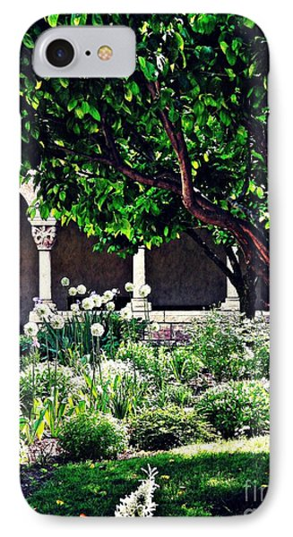 Spring Day At The Cloisters 3 IPhone Case
