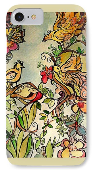 Spring Day IPhone Case by Claudia Cole Meek