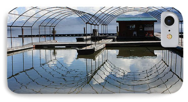 Spring Docks On Priest Lake Phone Case by Carol Groenen