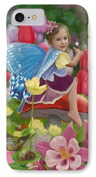 Fairy iPhone 7 Case - Spring Fairy by Lucie Bilodeau