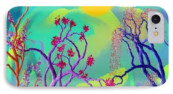 Spring Fantasy Phone Case by Dr Loifer Vladimir