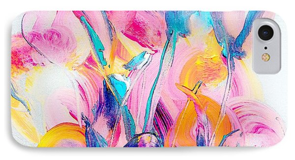 Spring Floral Abstract IPhone Case