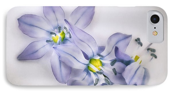 Spring Flowers On White IPhone Case