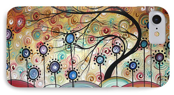 Spring Flowers Original Painting Madart Phone Case by Megan Duncanson