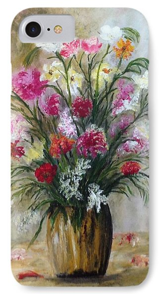 Spring Flowers IPhone Case by Renate Voigt