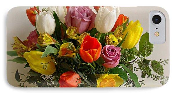 Spring Flowers Phone Case by Sandy Keeton