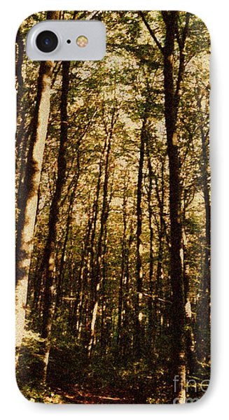 IPhone Case featuring the photograph Spring Forest by Jean Bernard Roussilhe