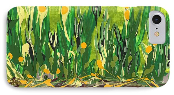 IPhone Case featuring the painting Spring Garden by Holly Carmichael
