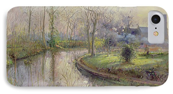 Spring Gardening IPhone Case by Timothy Easton