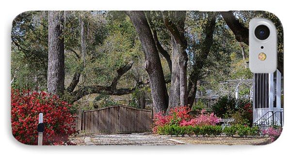 Spring Gate IPhone Case by Linda Brown