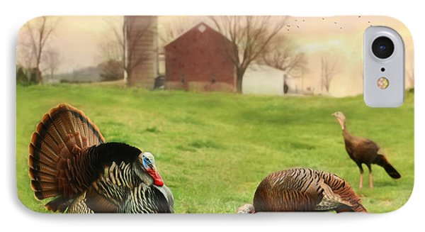 Spring Gobbler IPhone Case by Lori Deiter