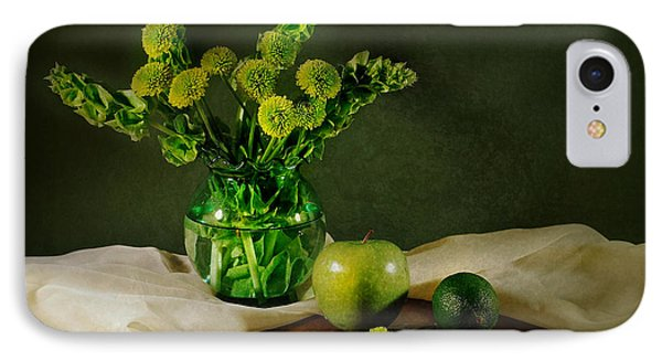 Spring Green IPhone Case by Diana Angstadt