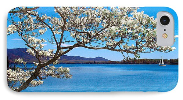 Spring Has Sprung Smith Mountain Lake IPhone Case by The American Shutterbug Society