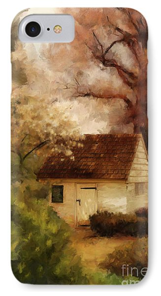 IPhone Case featuring the digital art Spring House In The Spring by Lois Bryan