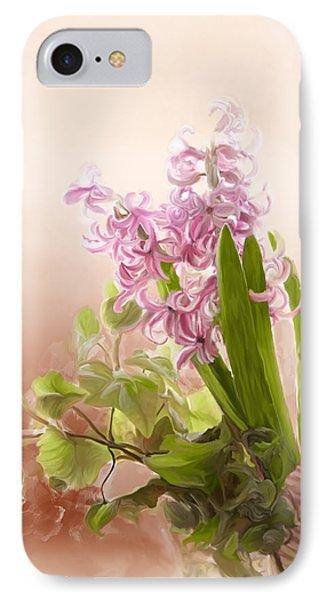 Spring Hyacinth IPhone Case