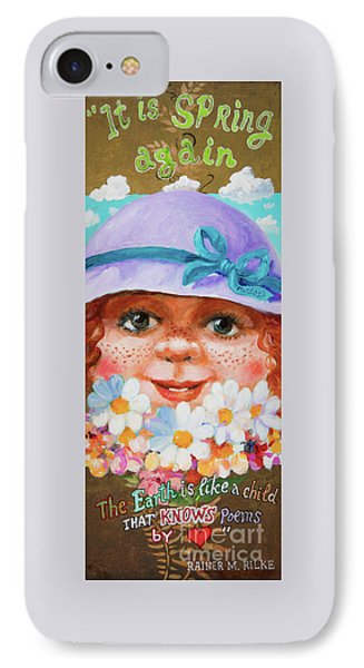 IPhone Case featuring the painting Spring by Igor Postash