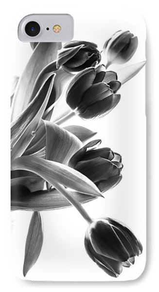 Spring In Black And White IPhone Case