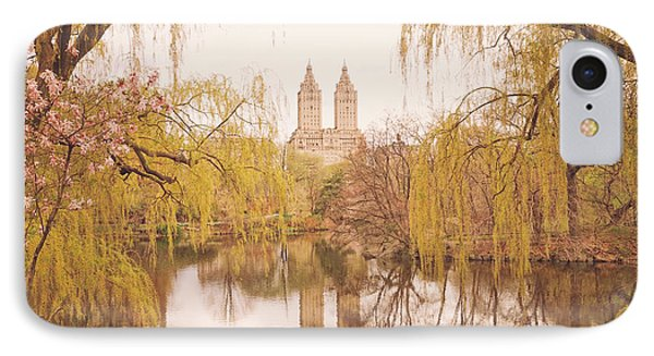 Spring In Central Park IPhone Case by Vivienne Gucwa
