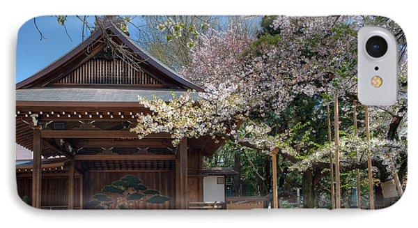 Spring In Edo IPhone Case by Alan Toepfer