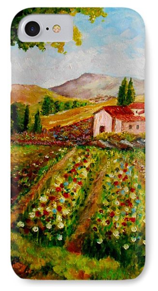 Spring In France IPhone Case