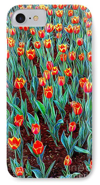 Spring In Holland IPhone Case by Ian Gledhill